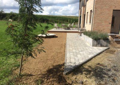 31 Terrasse - Pavage - Klinkers - Aménagement extérieur - Laurent Hubert