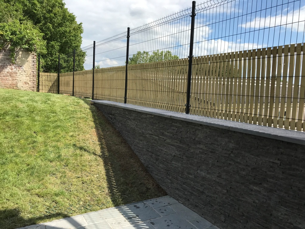 34 Clôtures - Briques de parement