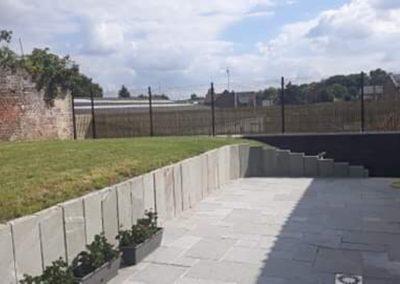 37 Terrase - Opus Romain - clôture